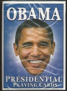 Barack Obama Hero Decks Playing Cards Poker Sized 52 Card Deck at 's Sports Collectibles Store