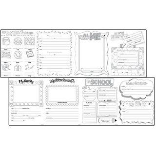 Creative Teaching Press All About Me Intermediate Fold Out (6977)  Themed Classroom Displays And Decoration