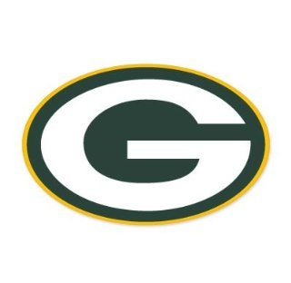"Green Bay Packers NFL Large Sticker (12"" x 8"") Cornhole Wall Car  Sports Fan Bumper Stickers  Sports & Outdoors"