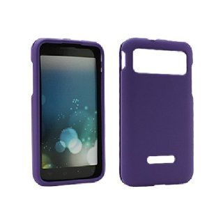 Purple Hard Snap On Cover Case for Samsung Captivate Glide SGH I927 Cell Phones & Accessories