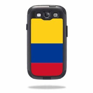 MightySkins Protective Vinyl Skin Decal Cover for OtterBox Commuter Samsung Galaxy S III S3 Case Sticker Skins Colombian Flag Cell Phones & Accessories