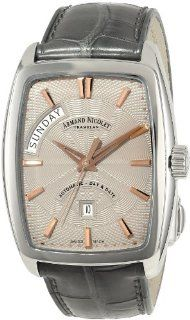 Armand Nicolet Men's 9630A GS P968GR3 TM7 Classic Automatic Stainless Steel Watch at  Men's Watch store.
