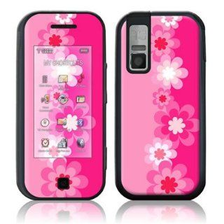 Retro Pink Flowers Design Protective Skin Decal Sticker for Samsung Glyde SCH U940 Cell Phone Cell Phones & Accessories
