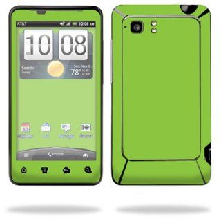 Protective Vinyl Skin Decal Cover for HTC Vivid 4G PH39100 B AT&T Cell Phone Sticker Skins Glossy Green Cell Phones & Accessories