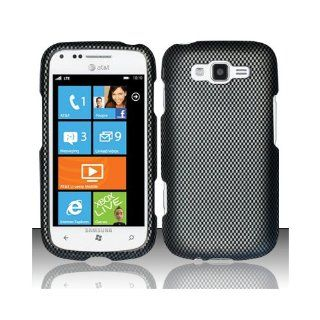Black Carbon Fiber Hard Cover Case for Samsung Focus 2 SGH I667 Cell Phones & Accessories
