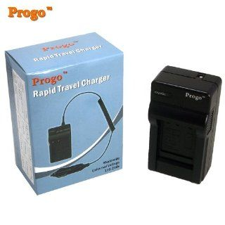 Progo Pocket Travel AC/DC Wall Charger with Car Adapter for Gopro AHDBT 001 AHDBT001, Fits Gopro HD Motorsports HERO, Surf Hero, Hero Naked, Hero 960, Hero HD 1080p, HERO 2  Digital Camera Batteries  Camera & Photo
