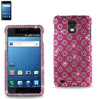 Premium Full Diamonded Hard Protective Case Samsung Infuse 4G(I997) (DPC SAMI997 06) Cell Phones & Accessories