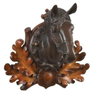 Oklahoma Casting Horse Head Wall Art   Outdoor Plaques