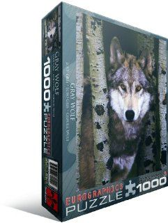 Gray Wolf 1000 Piece Puzzle Toys & Games