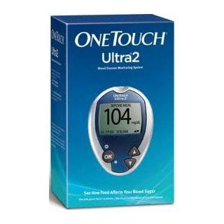 ONE Touch Ultra 2 Blood Monitoring System   Complete Kit (Strips and Supplies Are Not Included) Health & Personal Care