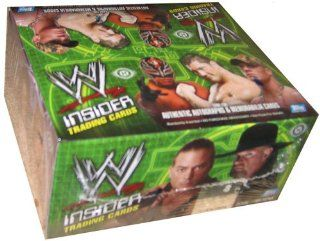 Topps WWE Insider Hobby Edition Trading Cards Box (24 Packs) Toys & Games