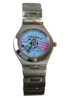 Peanuts Snoopy Watch   Snoopy Soccer Stainless Steel Watch Watches