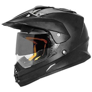 Cyber Solid UX 32 Dirt Bike Motorcycle Helmet   Matte Black / Large Automotive