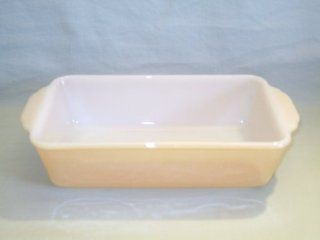 "Vintage 1950 70s Anchor Hocking Fire King "" Lustre "" Loaf Pan Baking Dish 5"" X 9"" Kitchen & Dining"