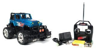120 Jeep Wrangler Crazy Crawler Off Road Remote Controll RTR RC Car Truck Toys & Games