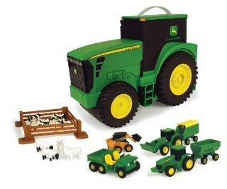 Ertl John Deere Carry Case Value Set Toys & Games