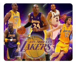 Los Angeles Lakers NBA Design Mousepad, Custom Rectangle Mouse Pad by Patterncase