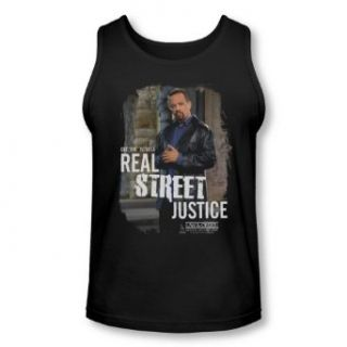 Law and Order SVU   Adult Tank Top Shirt Finn Street Justice Clothing