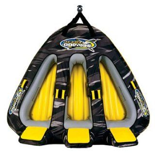 Sea Doo 3 Person Triangle Tube Inflateable Towable (92 Inch)  Waterskiing Towables  Sports & Outdoors