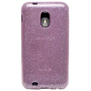 Diztronic Pink GlitterFlex TPU Case for Sprint Samsung Galaxy S II Epic 4G Touch (SPH D710) **ALSO FITS BOOST, VIRGIN MOBILE & US CELLULAR GALAXY S II PHONES**   Retail Packaging Cell Phones & Accessories