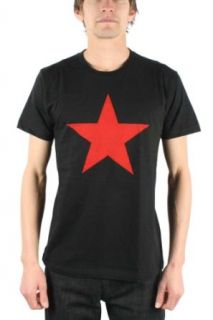 Rage Against The Machine   Red Star Adult T Shirt In Black, Size X Large, Color Black Clothing