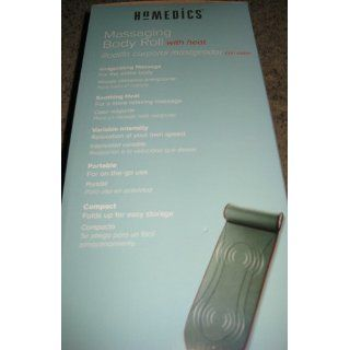 Homedics Massaging Body Roll with Heat and Variable Intensity Vibration Health & Personal Care