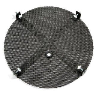 "New Pig DRM135 Steel Drum Draining Screen, 40 lbs Load Capacity, 22"" Diameter x 1 1/2"" Height, Black, For 55 Gallon Open Head Steel Drums Science Lab Funnels"