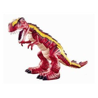 Fisher Price Imaginext T Rex Motorized Dinosaur Red   Eyes Light Up (2009) Toys & Games