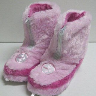 Pittsburgh Steelers NFL Womens Pink Zip Boot Slippers  Sports Fan Slippers  Sports & Outdoors