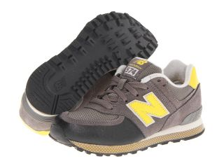 New Balance Kids 574 Boys Shoes (Gray)