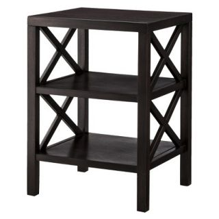 Accent Table Threshold X Accent Table   Dark Brown (Espresso)