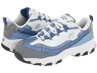 SKECHERS Work DLite S R   Safety Toe Womens Industrial Shoes (Blue)