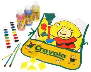 Crayola Deluxe Washable Painting Set Toys & Games
