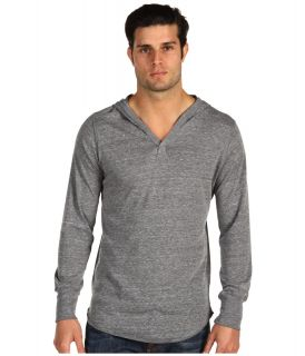 Alternative Apparel Eco Heather Pullover Hoodie Mens Long Sleeve Pullover (Gray)