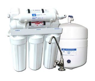 Under sink 7stage Alkaline Ph Reverse Osmosis Water Filter System with Mineral Filtration  Designed Faucet  75 gallon per day Membrane Safety Water Pressure Gauge Quick and Easy Self Installation Instructions. Anyone Can Do It   Undersink Water Filt