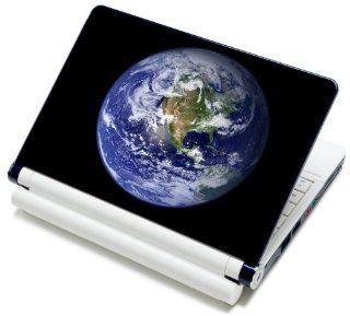 "Meffort Inc� 15 15.6 Inch Laptop Notebook Skin Sticker Cover Art Decal   Fits 13.3"" 14"" 15"" 16"" HP Dell Lenovo Asus Compaq Asus Acer Computers (Free Wrist Pad) (Earth View) Computers & Accessories"