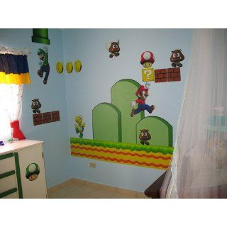 Shop Nintendo Wall Graphics   New Super Mario Bros at the  Home D�cor Store