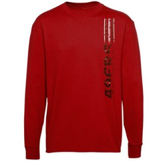 San Francisco 49ers Youth Code Breaker Long Sleeve T Shirt   Scarlet