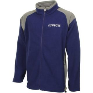 Dallas Cowboys Polar Fleece Jacket   Navy Blue