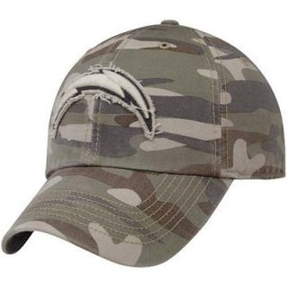 47 Brand San Diego Chargers Tarpoon Franchise Fitted Hat   Camo