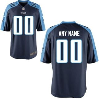 Nike Youth Tennessee Titans Customized Alternate Game Jersey