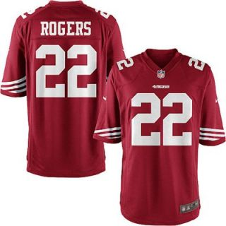 Nike Carlos Rogers San Francisco 49ers Game Jersey   Scarlet