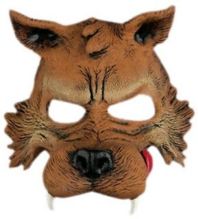 Big Bad Wolf Half Mask Clothing
