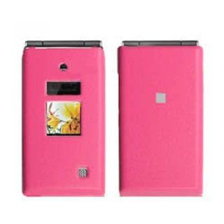 Hard Plastic Snap on Cover Fits Kyocera S4000 Mako Leather Hot Pink Executive MetroPCS, etc Cell Phones & Accessories