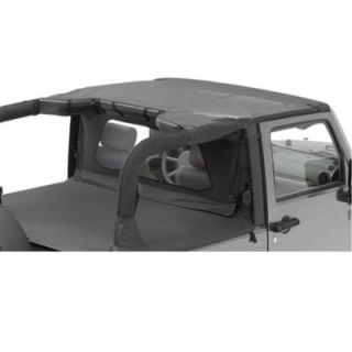 2007 2011 Jeep Wrangler (JK) Summer Top   Bestop, Direct fit, Dual layer poly cotton, Black diamond