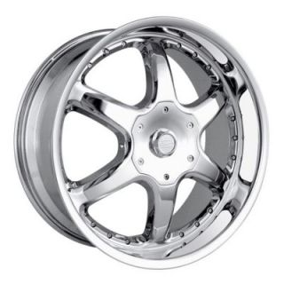 DIP Wheels D41 (Exodus) Chrome Wheels