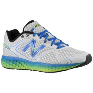 New Balance 980 Fresh Foam   Mens   Running   Shoes   Silver/Cobalt
