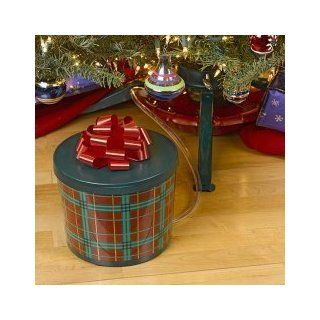 Ever Green Easy Real Christmas Tree Watering System   Red & Green Plaid