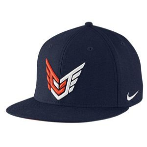 Nike CJ Homerun Snapback Hat   Mens   Training   Accessories   College Navy/Team Orange/White
