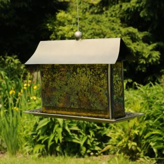 Beaming Bird Feeder   Yellow   Bird Feeders